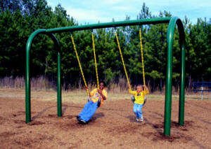 Adult metal swings