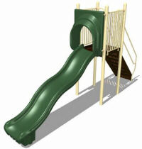 wave slides Freestanding