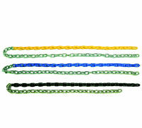 plastisol pvc coated swing chains
