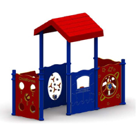 play center with roof