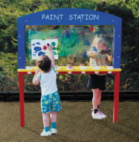 educational painting activity