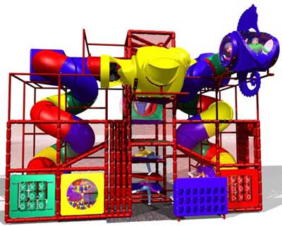 soft contained playground SC-F10