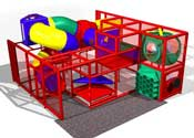 entertainment center playground SC-F8