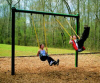 Single Post Swing Set Frame