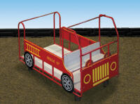 fire engine play area