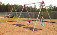 bipod swing set