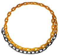 plastisol coated swing chain